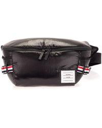 Thom Browne Other Materials Belt Bag - Black