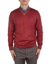 Cruciani Cashmere Sweater - Red