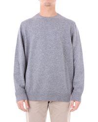 Drumohr Trousse sweatshirt herren - Grau