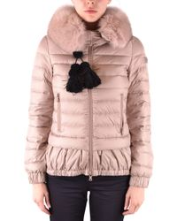 Peuterey - Pink Polyester Down Jacket - Lyst