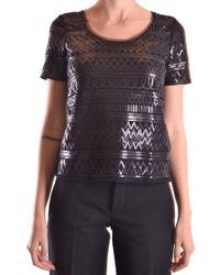 Liu Jo Black Polyester T-shirt