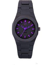 D1 Milano Black Pvc Watch