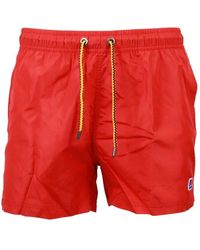 K-Way Polyester Trunks - Red