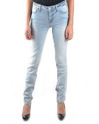 Marc By Marc Jacobs Women's Mcbi197023 Blue Cotton Jeans