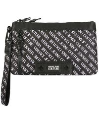 Versace Jeans Couture ANDERE MATERIALIEN POUCH - Schwarz