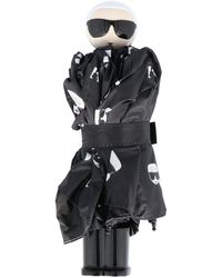 Karl Lagerfeld DAMEN 20KW201W3907SCHWARZ POLYESTER REGENSCHIRM