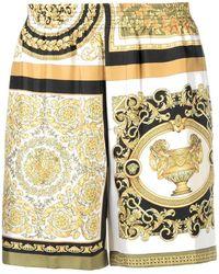 Versace SEIDE SHORTS - Mehrfarbig