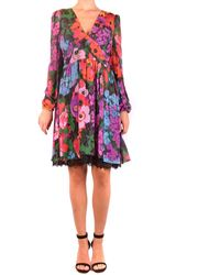 Twin Set Viscose Dress - Multicolor
