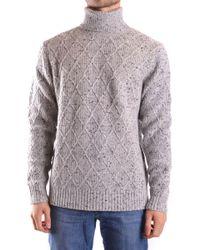 Michael Kors Gray Linen Sweater