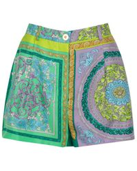 Versace ANDERE MATERIALIEN SHORTS - Lila