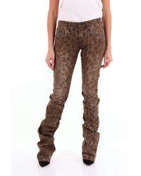 R13 Jeans bootcut - Braun