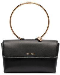 Versace - Leather Handbag - Lyst