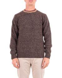 Heritage Brown Wool Jumper
