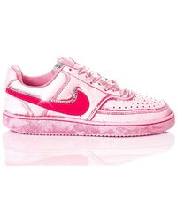 Nike Leather Sneakers - Pink