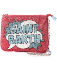 Mc2 Saint Barth Cotton Pouch - Red