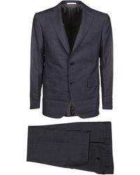 Pal Zileri Gray Wool Suit
