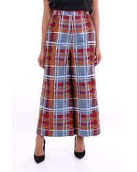 Stella Jean Jp05100t9907 Polyester Trousers - Red