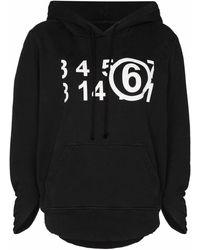Maison Margiela Cotton Sweatshirt - Black
