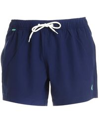 Save The Duck POLYESTER BADEBOXER - Blau
