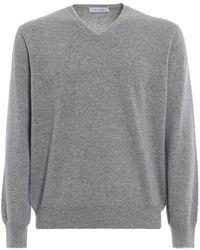 Cruciani Cashmere Sweater - Gray