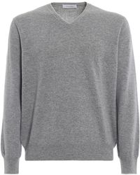 Cruciani Grey Cashmere Jumper - Gray