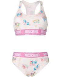 Moschino Cotton Lingerie & Swimwear - Pink