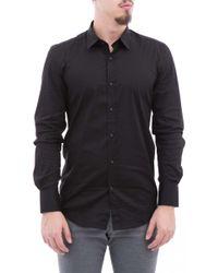 Antony Morato Black Cotton Shirt