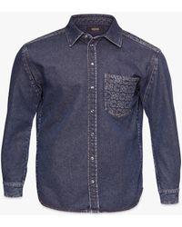 MCM Denim Shirt - Blue