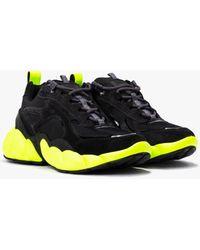 MCM Low-top Himmel Sneaker In Suede - Black
