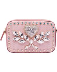 MCM - Soaring Heart Camera Bag In Snakeskin - Lyst