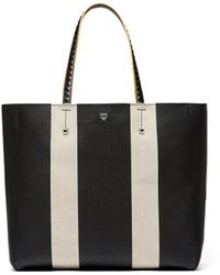 MCM - Ilse East-west Shopper In Canvas - Lyst