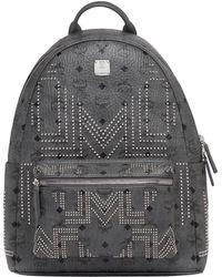 MCM - Stark Backpack In Gunta M Studs Visetos - Lyst