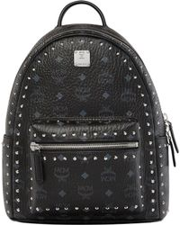 MCM - Stark Outline Studs Backpack Small Black - Lyst