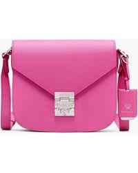 MCM - Patricia Shoulder Bag In Park Avenue Leather - Lyst
