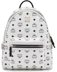 MCM - 'small Stark' Side Stud Backpack - Lyst