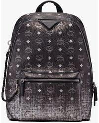 MCM New Duke Backpack In Gradation Visetos - Metallic