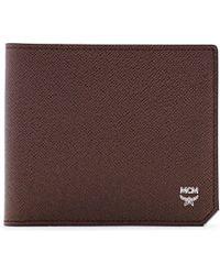 MCM - New Bric Bi-fold Wallet - Lyst