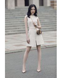 Decos Sepha Embroidery Sleeveless Mini Dress - Multicolor