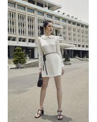 Decos Ely Long Sleeves Mini Dress - Multicolor