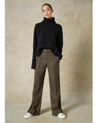 ME+EM - Donegal Tweed Tailored Man Pant - Lyst
