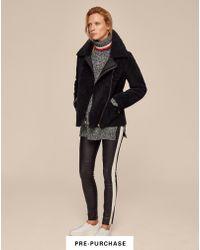 ME+EM - Reversible Shearling Jacket - Lyst
