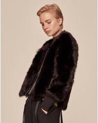 ME+EM - Sporty Shearling Jacket - Lyst