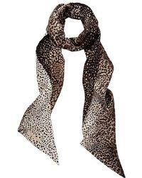 meli melo - Silk Scarf | Leopard Print - Lyst