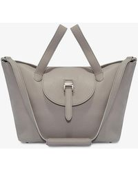 meli melo - Thela Medium | Tote Bag | Zipper Taupe - Lyst