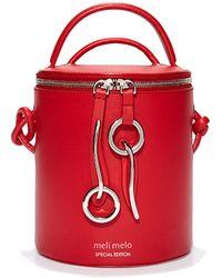 meli melo - Severine   Bucket Bag   Poppy Red - Lyst