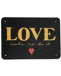meli melo Design Your Own Tag Handpainted   Art Bag - Multicolour
