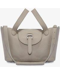 meli melo - Thela Mini Cross Body Bag Taupe - Lyst