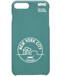meli melo - Nyc Phone Case | 6plus , 6splus, 7 , 8, 7plus , 8plus, X , Xs | Queens Green - Lyst