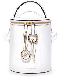 meli melo - Op Hue Severine | Bucket Bag | Bianca White - Lyst