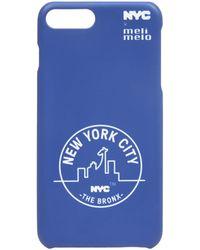 meli melo - Nyc Phone Case | 6plus , 6splus, 7 , 8, 7plus , 8plus, X , Xs | Bronx Blue - Lyst